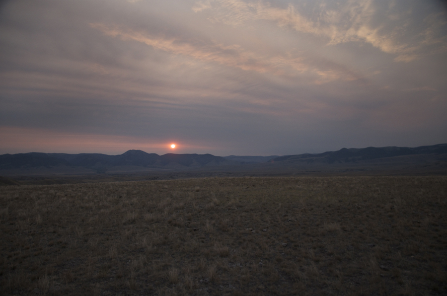Antelope hunting montana, montana sunrise, hunting photography