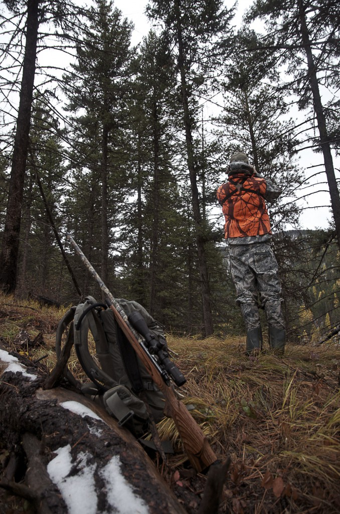 Deer, rifle, hunting, wester, montana, vortex, snow