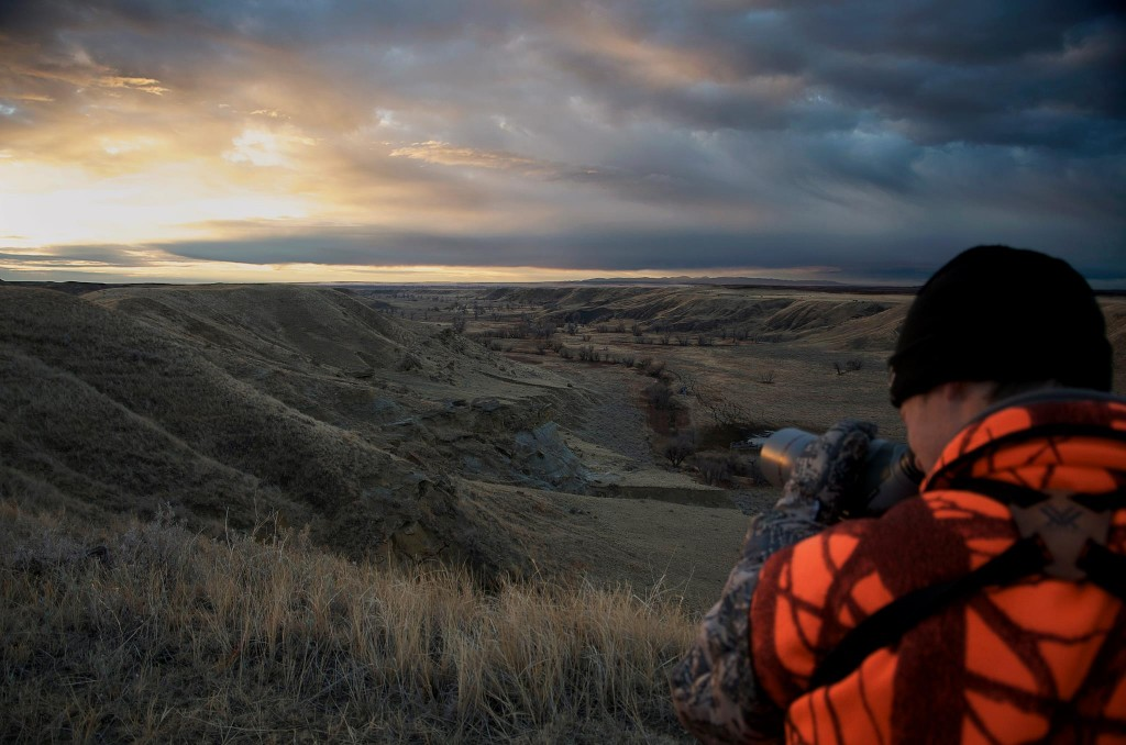 Vortex, Razor, HD, easter, montana, mule, deer, hunting, amazing, sunrise