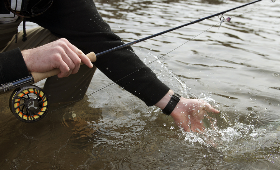 fish, release, orvis, water, splash