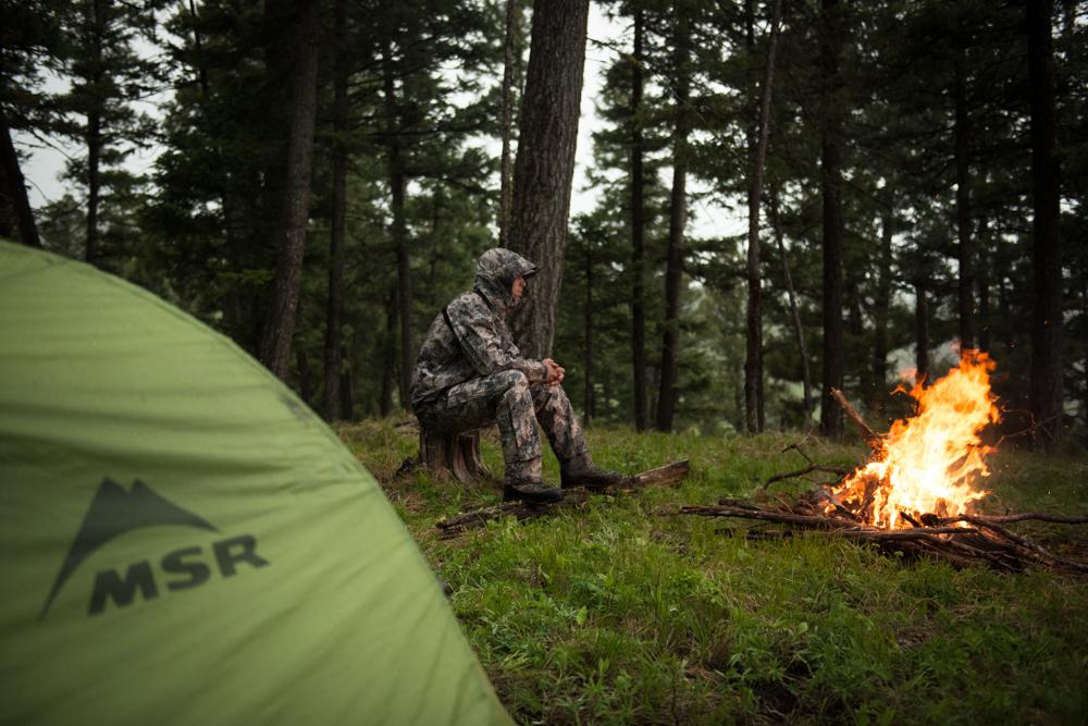 bear hunting, montana, wild, spring, rain, fire, camping, videos
