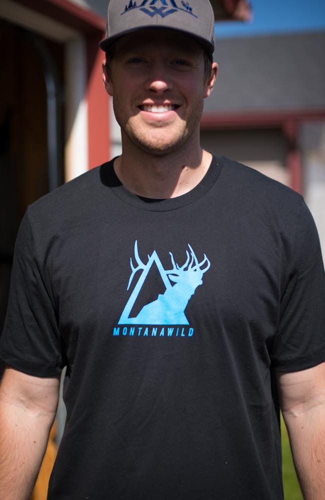 montana wild, elk icon tee, elk tee, elk t-shirt, elk hunting apparel, hunting apparel, missoula mt, bozeman elk