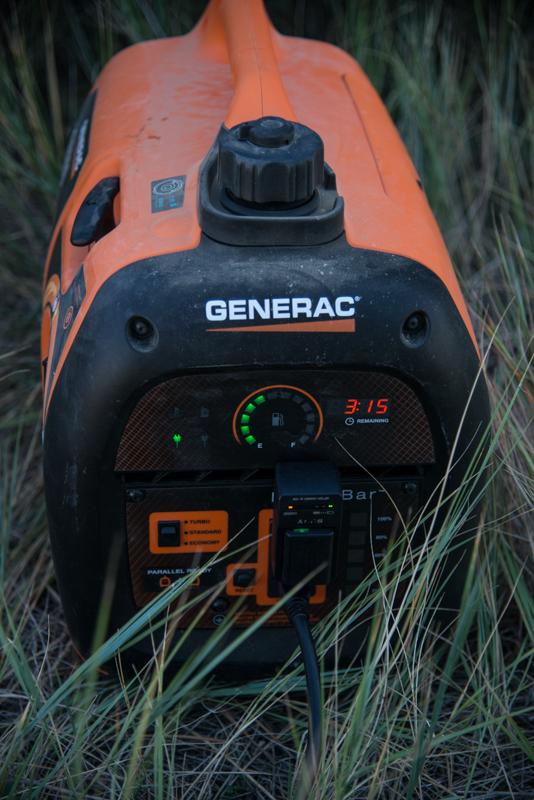 generac, iq2000, best, portable, generator, elk, hunting, fuel, efficient